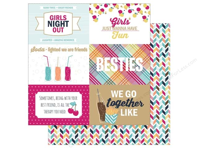 Photo Play 12 x 12 in. Paper Fun With Friends Cards 4 x 6 in. (25 sheets)