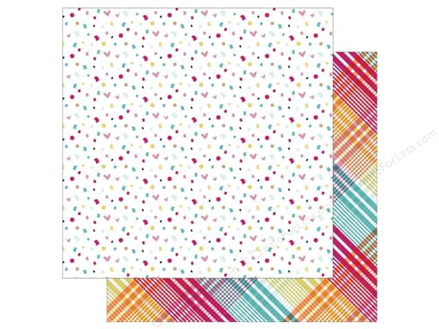 Photo Play 12 x 12 in. Paper Fun With Friends Confetti (25 sheets)