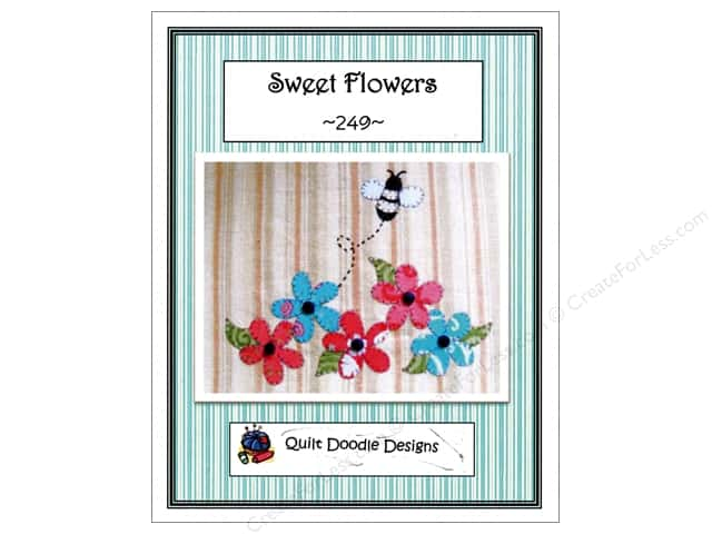 Quilt Doodle Designs Sweet Flowers Pattern