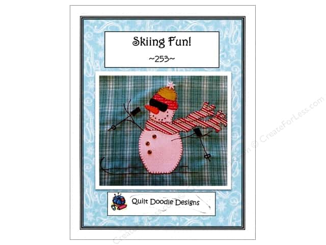 Quilt Doodle Designs Skiing Fun! Pattern