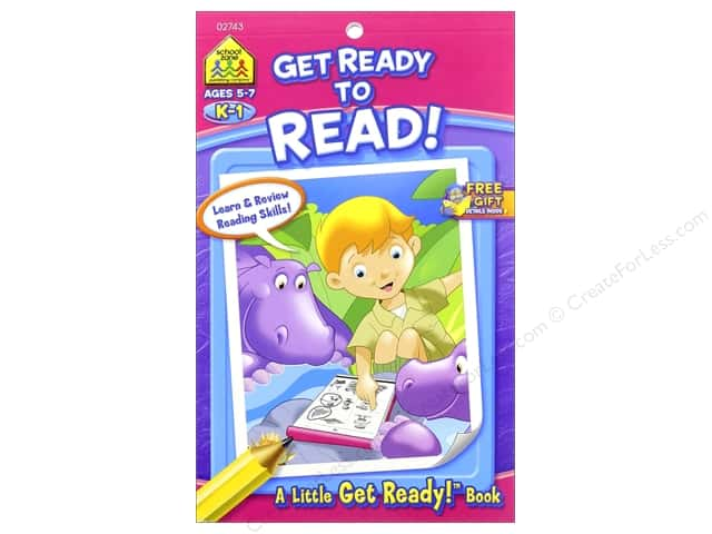 School Zone Little Get Ready! Get Ready To Read Book