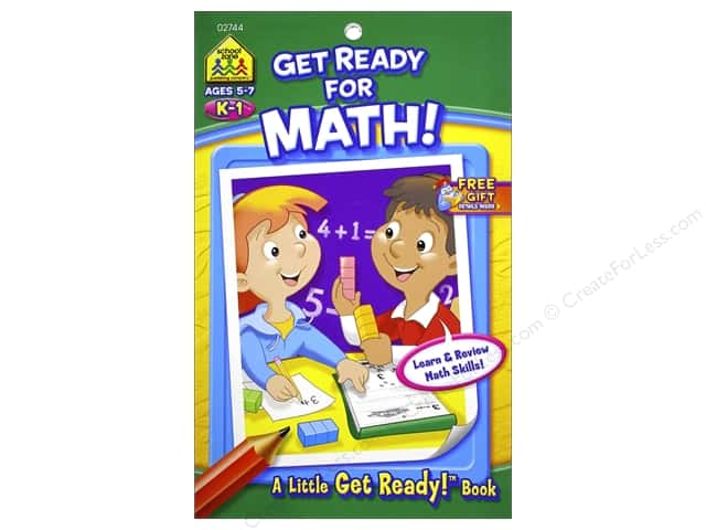 School Zone Little Get Ready! Get Ready For Math Book