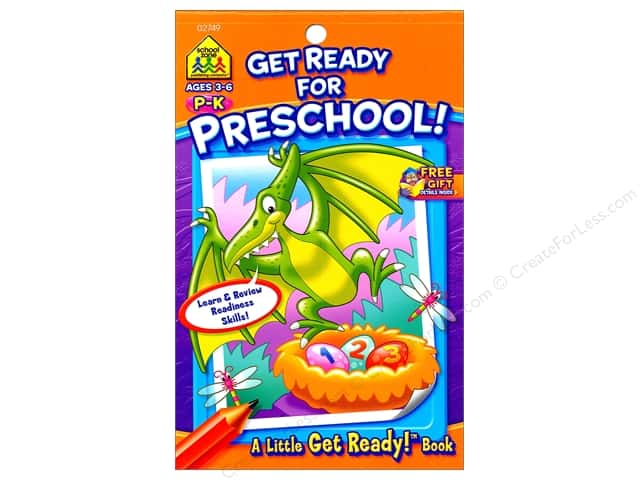 School Zone Little Get Ready! Get Ready For Preschool Book