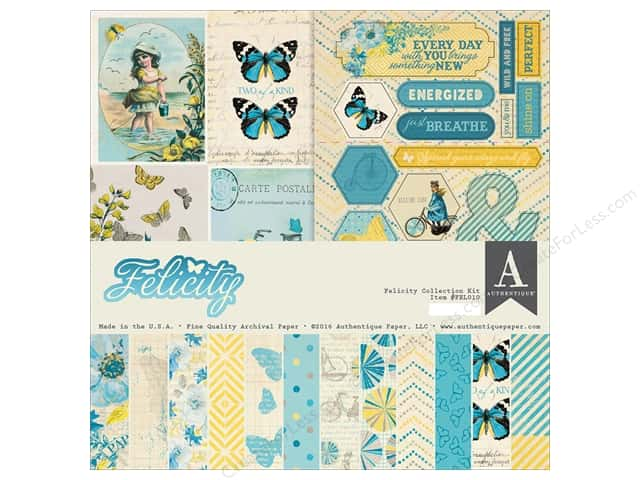 Authentique 12 x 12 in. Collection Kit Felicity