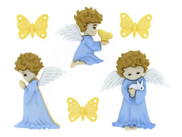 Jesse James Buttons ~ Dress It Up  ~ A CHOIR OF ANGELS 7495 Sew Craft Scrap