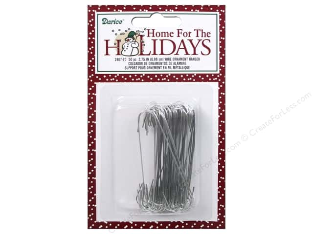 Darice Decor Holiday Christmas Wire Ornament Hanger
