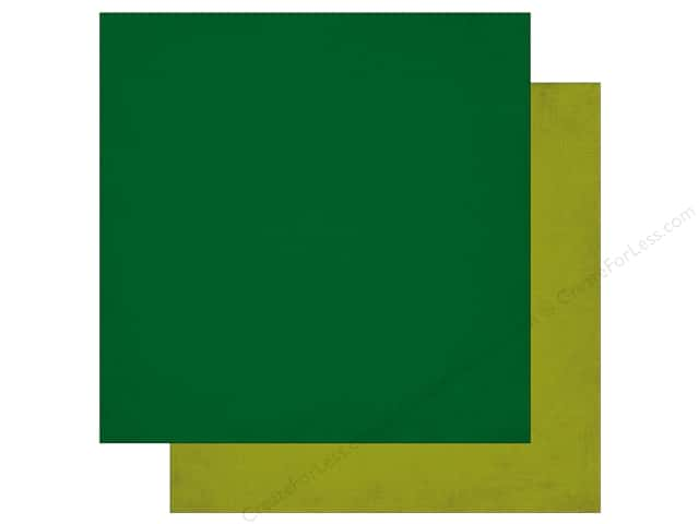 Echo Park 12 x 12 in. Paper Jungle Safari Collection Dark Green & Light Green (25 pieces)