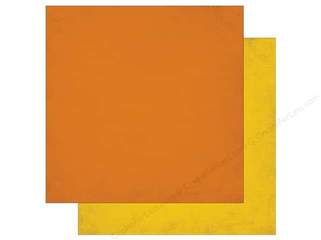 Echo Park 12 x 12 in. Paper Jungle Safari Collection Orange & Yellow (25 pieces)