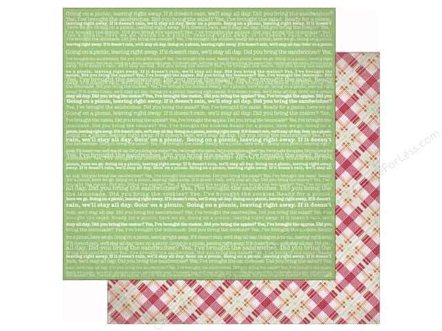 Authentique 12 x 12 in. Paper Cheerful Nine (25 sheets)