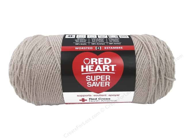 Red Heart Super Saver Yarn #326 Oatmeal 364 yd.
