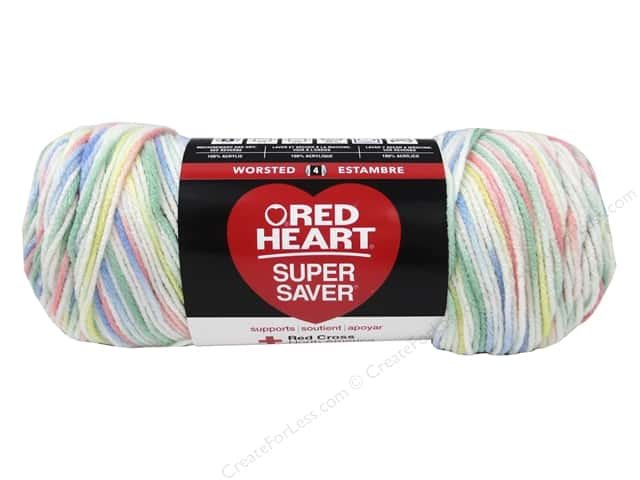 Red Heart Super Saver Yarn #3959 Lovey 236 yd.