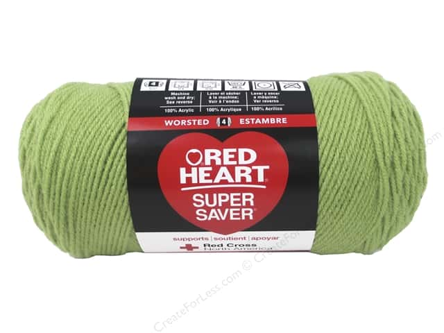 Red Heart Super Saver Yarn 364 yd. #625 Guava