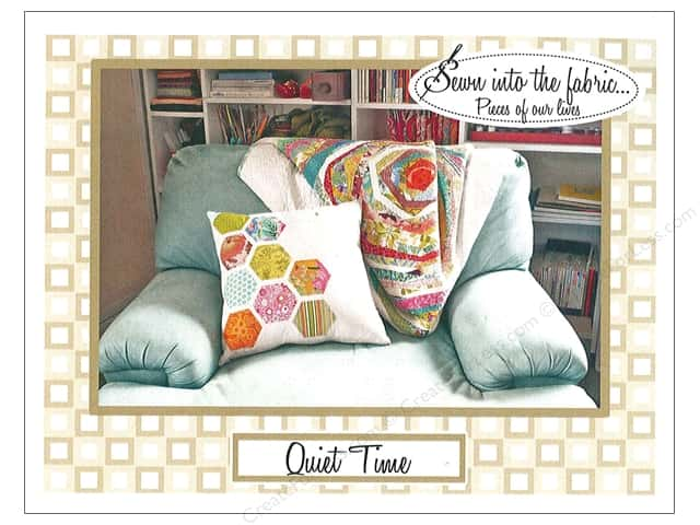 Sewn Into The Fabric Quiet Time Pillow Pattern