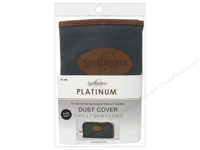 Spellbinders Accessories Dust Cover Grey