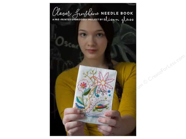 Alison Glass Design Clover Sunshine Needle Book Pattern