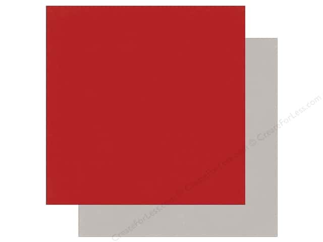 "Photo Play Collection Holiday Cheer Paper 12""x 12"" Red/Silver (25 sheets)"