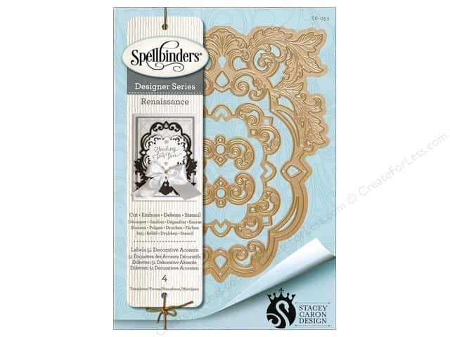 Spellbinders Die Nestabilities Labels 51 Accent