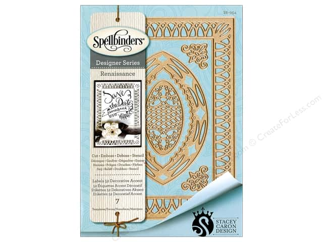 Spellbinders Die Nestabilities Labels 52 Accent