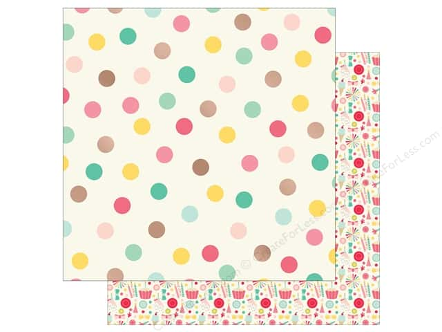 My Mind's Eye 12 x 12 in. Paper Hooray Party Time (25 sheets)
