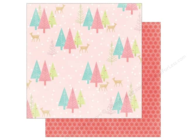 My Mind's Eye 12 x 12 in. Paper Sugar Plum Wintry (25 sheets)