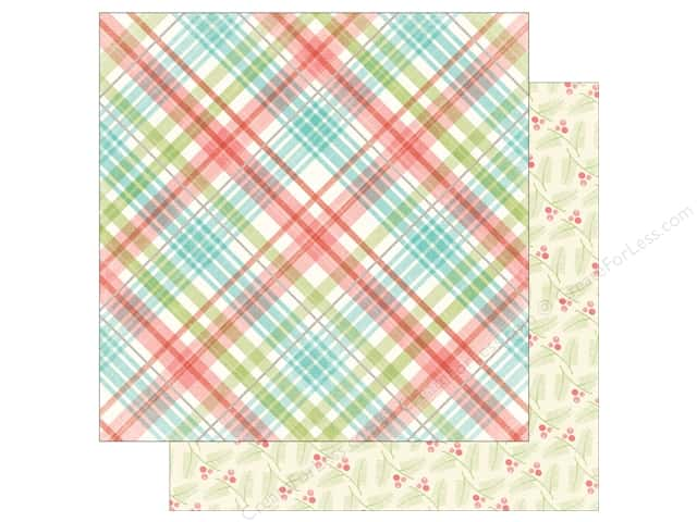 My Mind's Eye 12 x 12 in. Paper Sugar Plum Merry (25 sheets)