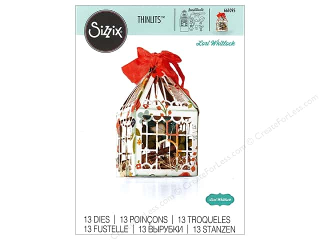 Sizzix Thinlits Die Set 13 pc. For The Birds