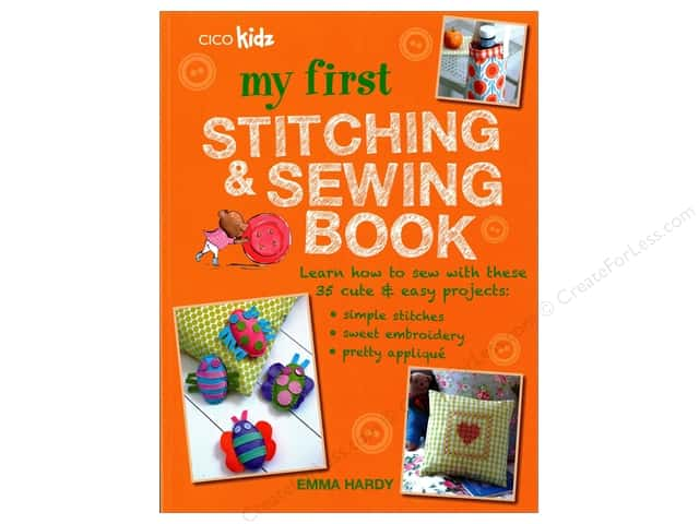 Cico My First Stitching & Sewing Book