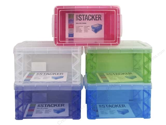 Storage Studios Super Stacker 3 x 5 in. Box 1 pc.