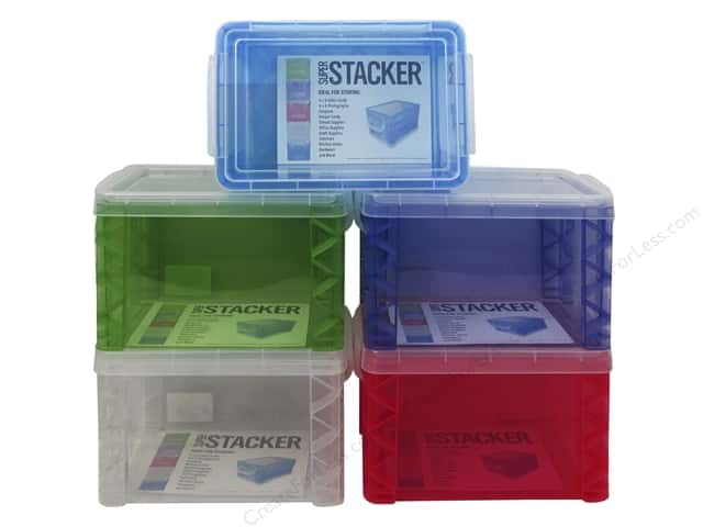Storage Studios Super Stacker 4 x 6 in. Box 1 pc.