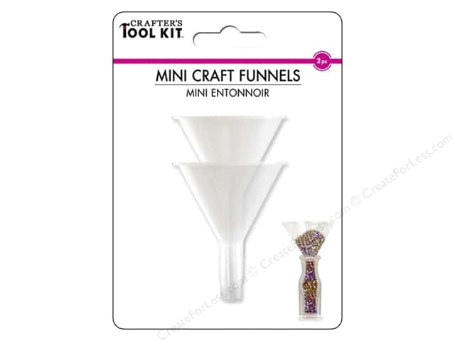 "Multicraft Tools Mini Craft Funnels 1.57""x 1.97"" 2pc"