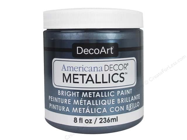 DecoArt Americana Decor Metallics 8 oz. Pewter