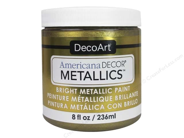DecoArt Americana Decor Metallics 8 oz. Vintage Brass