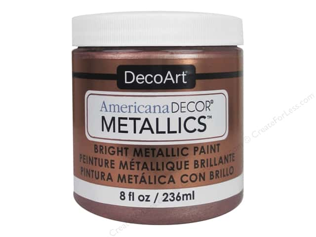 DecoArt Americana Decor Metallics 8 oz. Rose Gold