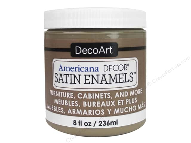 DecoArt Americana Decor Satin Enamel Paint 8 oz. Natural Sable