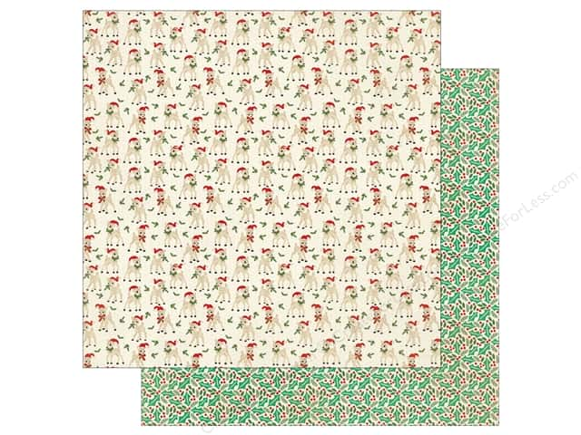 Authentique 12 x 12 in. Paper Retro Christmas One (25 sheets)