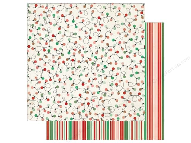 Authentique 12 x 12 in. Paper Retro Christmas Three (25 sheets)
