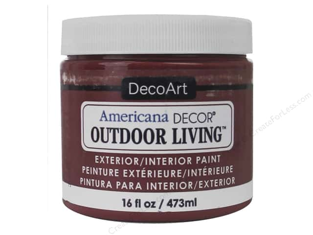 DecoArt Americana Decor Outdoor Living Exterior/Interior Paint 16 oz. Fire Pit