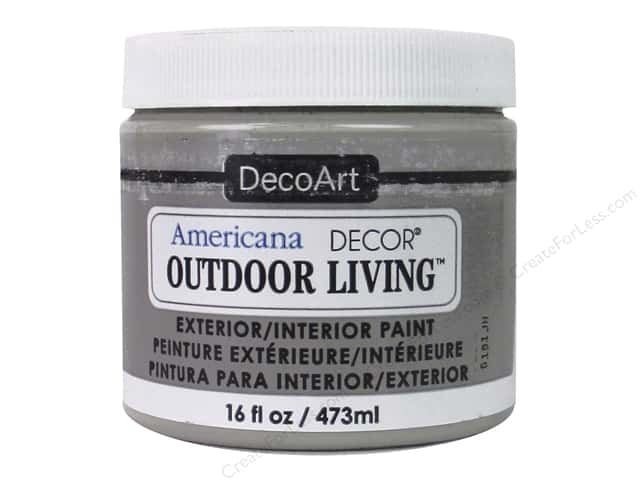 DecoArt Americana Decor Outdoor Living Exterior/Interior Paint 16 oz. Patio