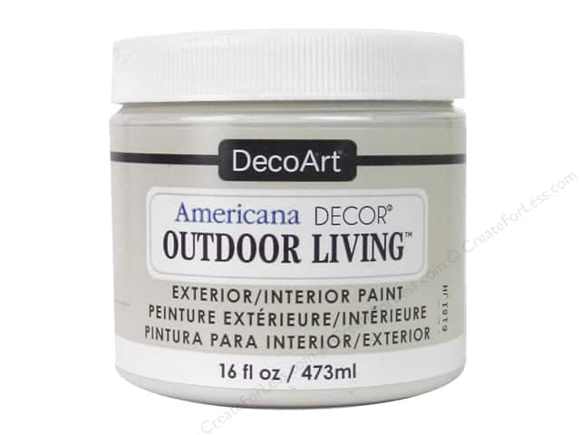 DecoArt Americana Decor Outdoor Living Exterior/Interior Paint 16 oz. Sand