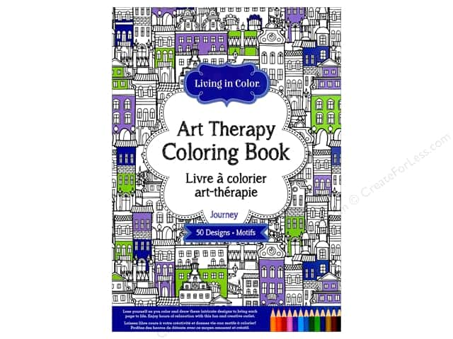 Multicraft Living In Color Art Therapy Journey Coloring Book