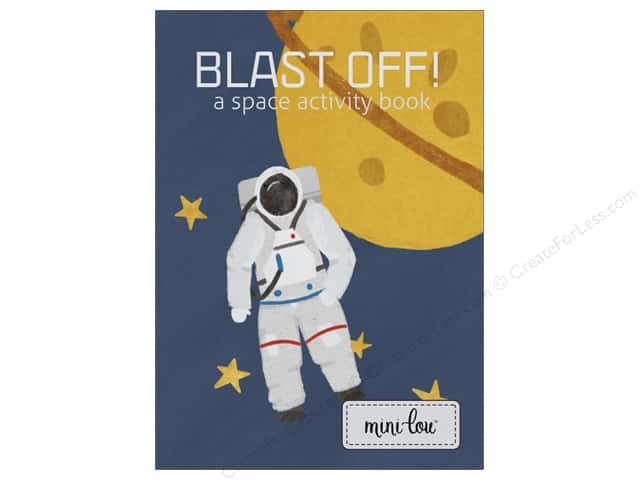 MiniLou Blast Off! Mini Activity Coloring Book