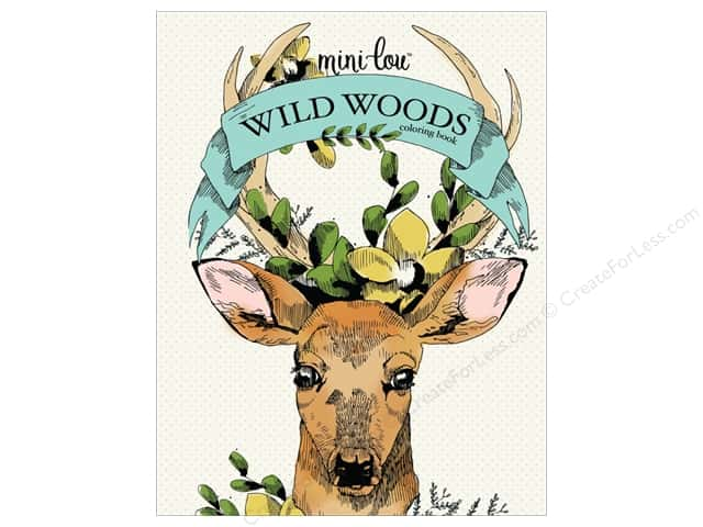 MiniLou Books Wild Woods Coloring Book