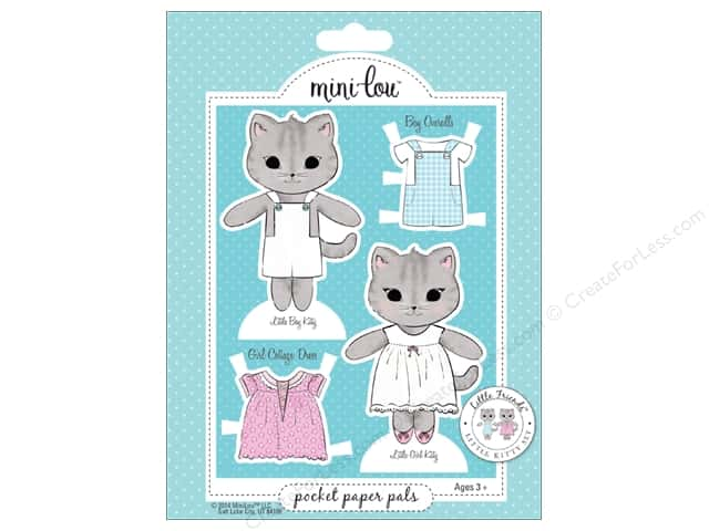 MiniLou Pocket Pal Little Friends Kitty