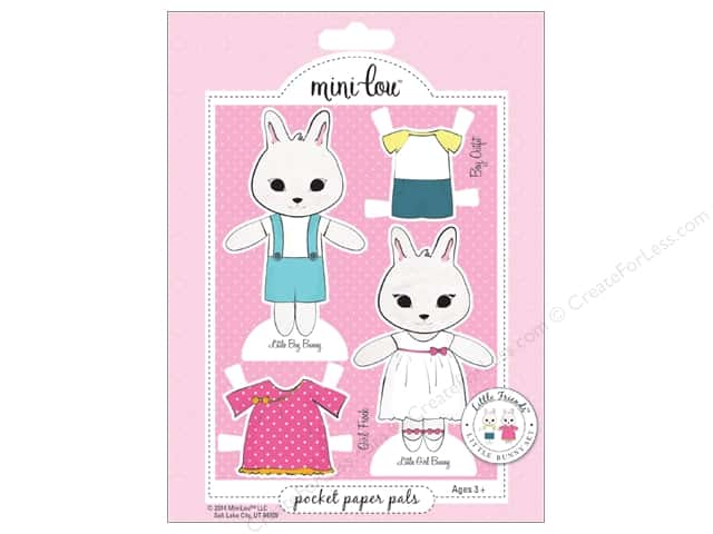 MiniLou Pocket Pal Little Friends Bunny
