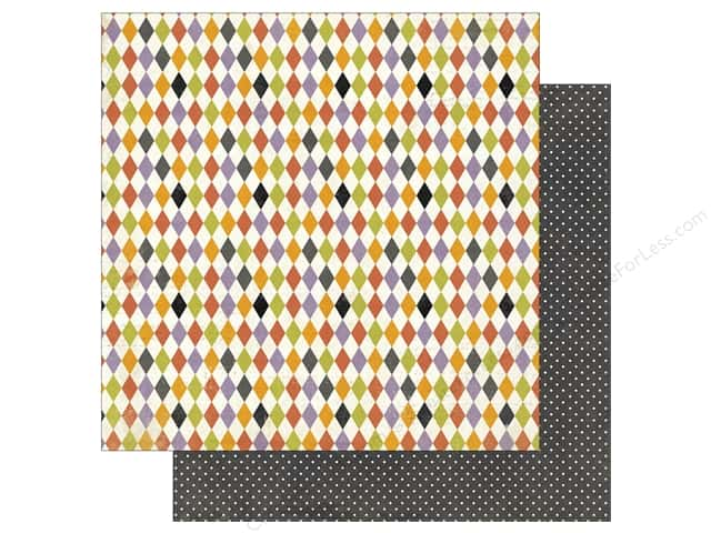 Photo Play 12 x 12 in. Paper Bootiful Harlequin (25 sheets)