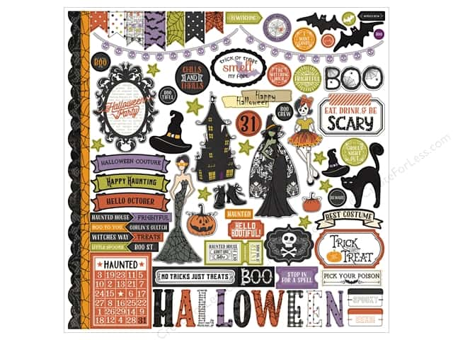 Photo Play Stickers Bootiful Elements (12 sheets)