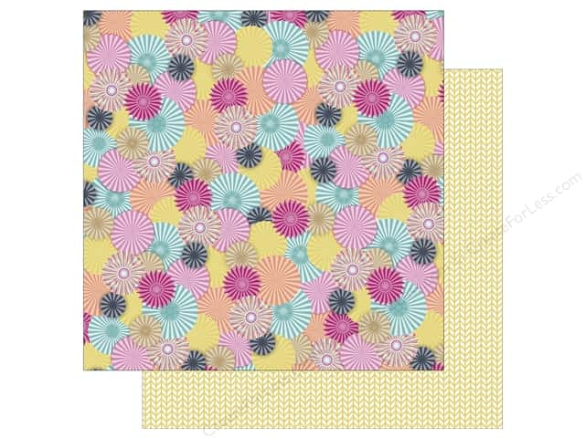 Photo Play 12 x 12 in. Paper Fun With Friends Rosettes (25 sheets)