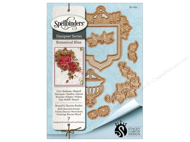 Spellbinders Die Shapeabilities Beautiful Banner Basket