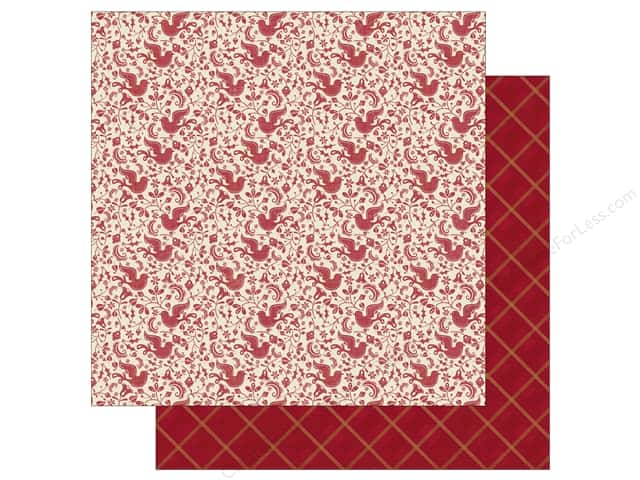 Authentique 12 x 12 in. Paper Classic Christmas Four (25 sheets)