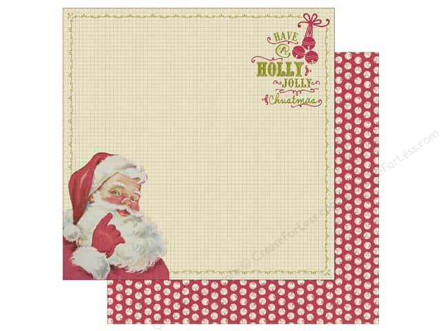 Authentique 12 x 12 in. Paper Classic Christmas One (25 sheets)